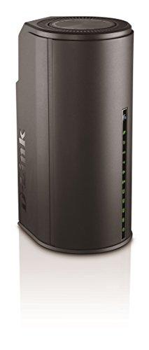 D-Link DSL-3590L Modem-Router ADSL2+, Wireless AC1900 Mbps, Doppia Banda, 4 Porte Gigabit + WAN, USB 2.0 e 3.0, Nero