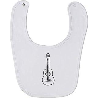 Azeeda 'Guitar Instrument' Baby Bib (BI00013618)