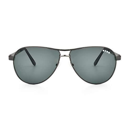 ZHOUYF Sonnenbrille Fahrerbrille Hochwertige Sonnenbrillen Mit Kratzfester Glaslinse Metall-Vollformat-Sonnenbrillen Für Männer Verstärkte Glassonnenbrillen, A
