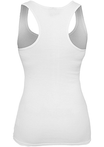 Urban Classics - T-Shirt De Sport Femme blanc