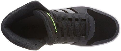 adidas Vs Hoops Mid 2.0, Baskets Hautes Homme Noir (Core Black/grey Three F17/carbon S18 Core Black/grey Three F17/carbon S18)