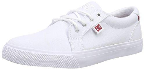 DC Shoes Council TX Se J Shoe WHT, Baskets Basses Femme