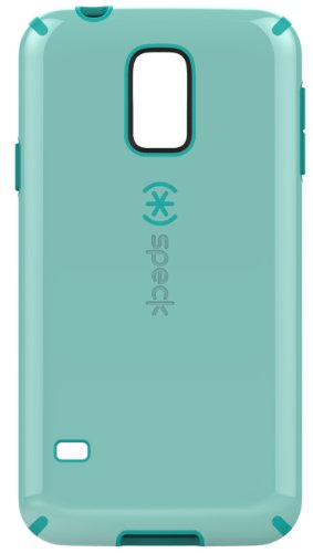 Speck CandyShell Grip Case Cover Schutzhülle für Samsung Galaxy S5 - Aloe Green/Caribbean Blue -