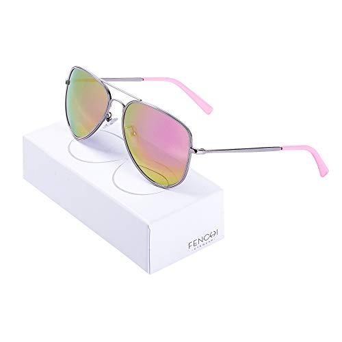 GUOTAIYH Mode Sonnenbrillen Sonnenbrille Frauen Vintage Classic Pilot Sonnenbrille Designer Marke Unisex Driving BrilleC2 Pink Revo
