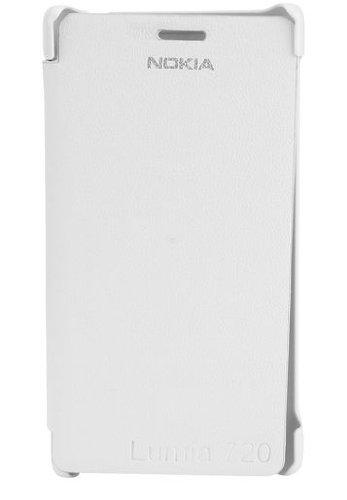 YGS Flip Cover For Nokia Lumia 720_White