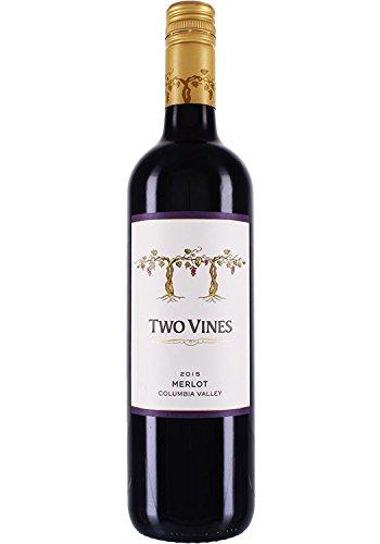 Columbia Crest Two Vines Merlot 2015 (1 x 0.75 l) Columbia Wine Co