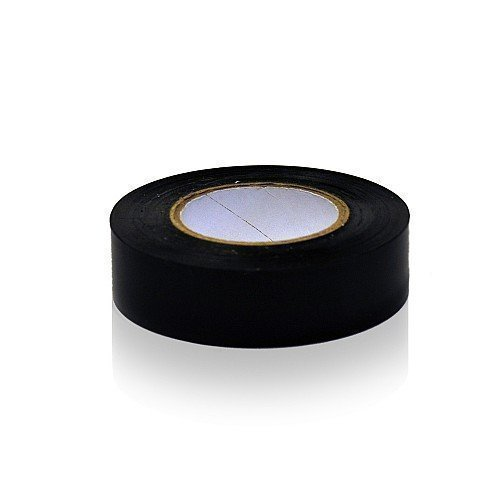 1 Roll 19mm x 20m Black PVC Sports Tape Football Hockey Rugby by The Home Fusion Company