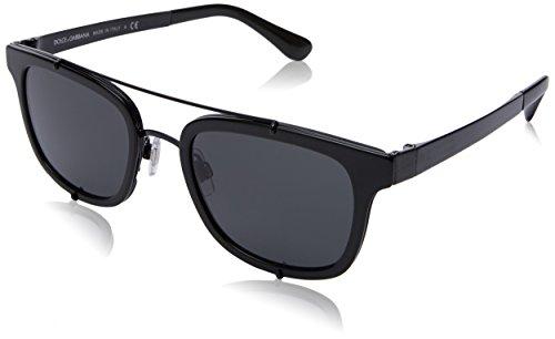 Dolce & Gabbana Herren 0DG2175 501/87 51 Sonnenbrille, Schwarz (Black/Grey)
