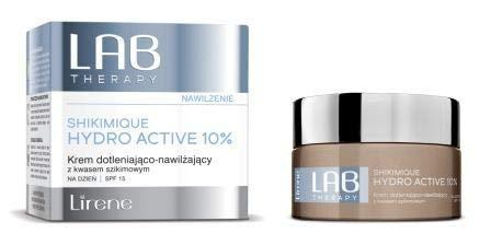 Lirene LAB Therapy Shikimique Hydro Active 10% - Feuchtigkeitscreme für den Tag SPF 15