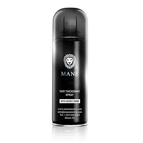 Mane America Hair Thickening Spray with Added Shine Root Concealer (200ml) (Hazel)