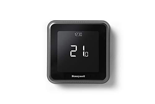 Honeywell Home Y6R910WF6042 Lyric T6 Wi-Fi Raumthermostat und verdrahtete Empfängerbox, Wandmontage, Schwarz