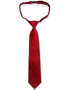 Retreez - Corbata de microfibra con nudo, varios colores