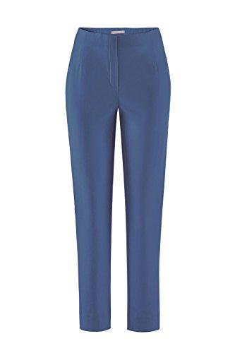 Stehmann Stretchhose INA 740 - VIELE FARBEN - Mit EXTRA-Fashion Armreif -Gerade geschnittene Pull-On Hose mit Schlitz, Hosengröße:46, Farbe:nautic (Nautic Marine)