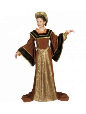 Theaterkostüm-Set Lady Tudor, Größe - Kostüm Medievale Femme
