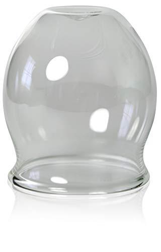 Feu-ventouse, professionnel 60 mm, schröpfkopf saugglas déboucheur à ventouse), ventouse, cloches lauschaer verre en verre, l'original