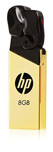 HP v239g 8GB USB Flash Drive (Gold Metallic)