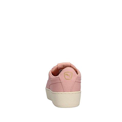 PUMA VIKKY PLATFORM CV SNEAKERS ROSA BEIGE 365603-02 Rosa