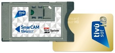 TIVUSAT HD SMARCAM Modul + Smartcard