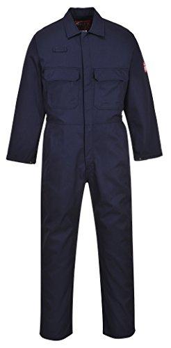 Portwest Biz1Bizweld Boilersuit, Farbe Marine, Größe 6x l