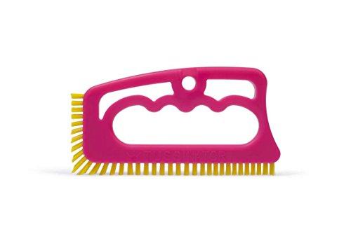fugenial-tussinator-limited-edition-rosa-fucsia-con-setole-gialle-spazzola-per-fughe-tra-le-piastrel
