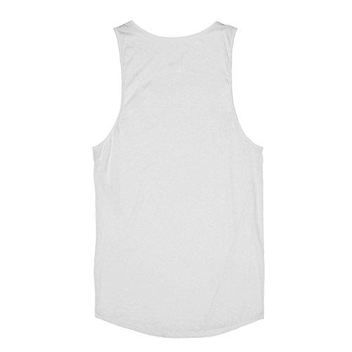 BANG TIDY CLOTHING Herren Top * Einheitsgröße Weiß