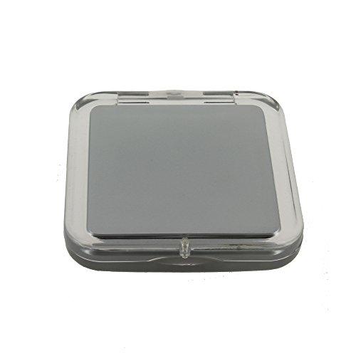 Miroir de poche carré, Grossissant x5 - Zingus