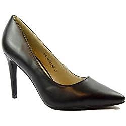 SHLEP , Damen Pumps, schwarz - Schwarz - Größe: EU 40