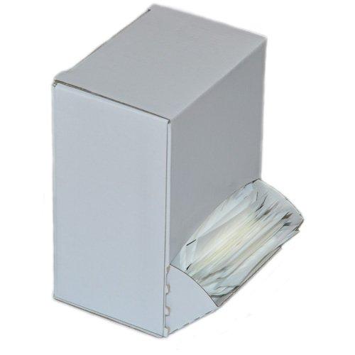 DENTAMIN® Zahnstocher 1000Stück weiß einzeln hygienisch verpackt in Spenderbox Test