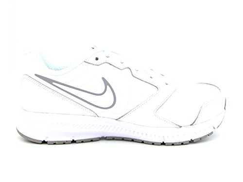 Nike Herren Downshifter 6 Ltr (Gs/Ps) Laufschuhe Weiß (White/white-wolf Grey)