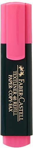 Faber-Castell 154828 - Textmarker Textliner 48, nachfüllbar, rosa