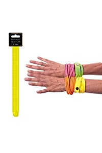 Party Pro- Pulsera, Color amarillo, talla única (33351)