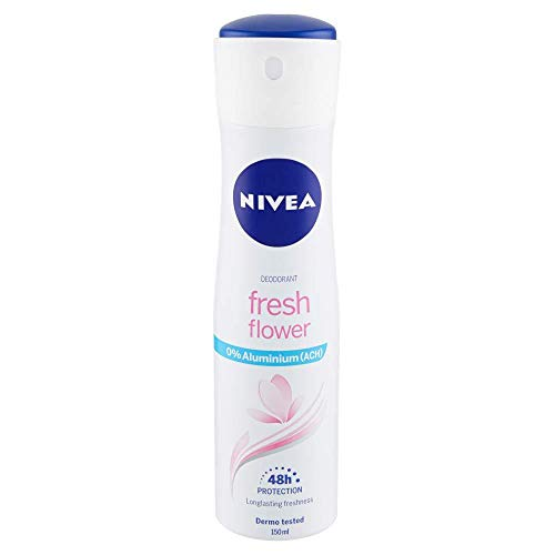 Nivea Deodorant Frau Spray Fresh Flower - 6 Packungen à 150 ml - Total: 900 ml