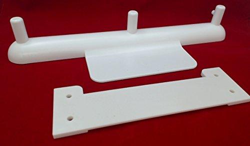 MixerMaid - der Standmixer-Vorsatzhalter für Neigekopf- (4,5 Quart und 5 Quart) und Abhebe-Schüssel-Standmixer (5 Quart)