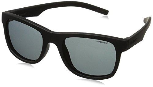 Polaroid Unisex-Kinder PLD 8020/S Y2 YYV Sonnenbrille, Schwarz (Black Rubber/Grey Pz), 46
