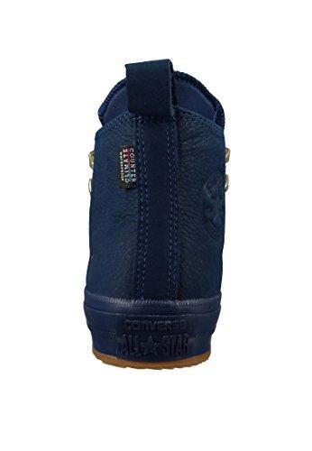 Converse All Star Waterproof Hi Damen Sneaker Blau Midnight Navy Midnight Navy