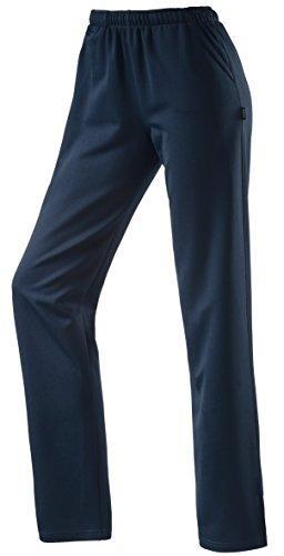 Michaelax-Fashion-Trade - Pantalon de sport - Capri - Uni - Femme Dunkelblau (798)