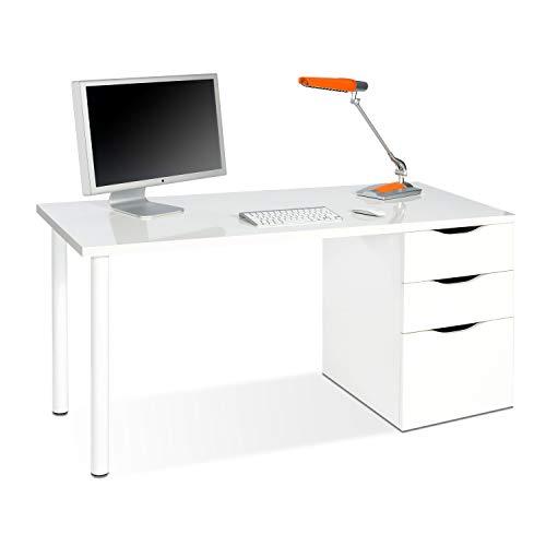 Habitdesign 004604A - Mesa ordenador reversible dos