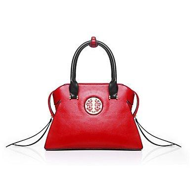 Frauen Mode klassische Crossbody-Tasche Red