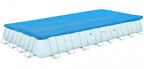 Toalla de cubierta para piscina rectangular rígida 960x 492cm.