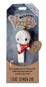 Watchover Voodoo - Schlüsselanhänger - Liebe deinen Job
