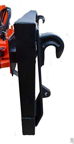 Vario Schneeschild Euroaufnahme V 125cm hydraulisch Schneeschieber Winterdienst