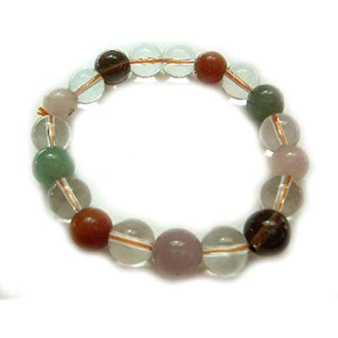 Feng Shui importazione Multi Color Cristallo braccialetti
