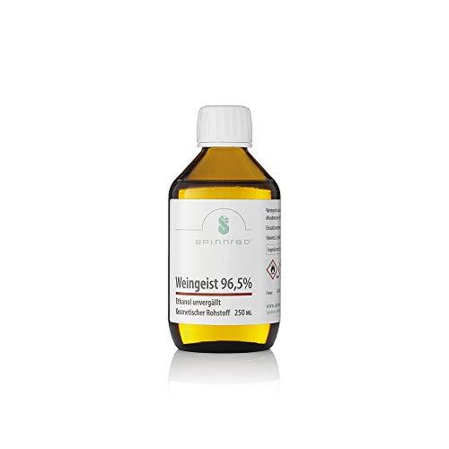 Spinnrad Weingeist 96,5% - Ethanol - unvergällt 250 ml