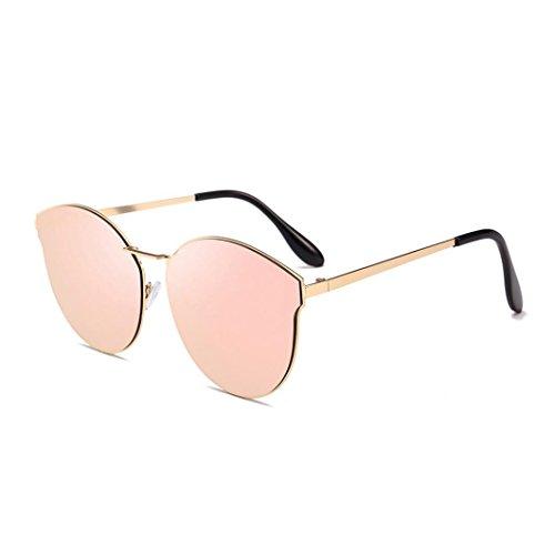 AIMEE7 Lunettes de Soleil pour Homme et Femme Vintage Eyewear Pas cher Homme Rétro Sunglasses Vintage Eyewear métal Cadre Super Léger Polarisées Yeux Protection Pour Conduite Randonnée Tournée (A)