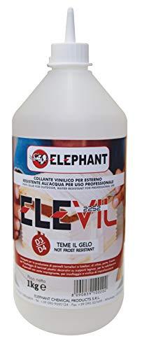 1 KG Colla vinilica per Legno D3 ELEVIL2252 Super Collante professionale