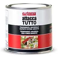 Extrema EXT-PF-270 Adesivo Universale Attaccatutto, Trasparente, 400 ml, Set di 6 Pezzi