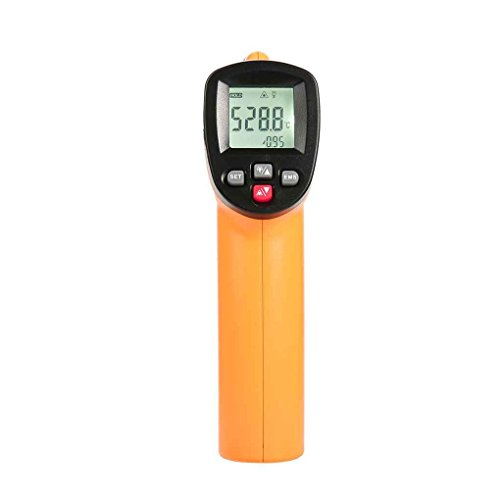 Pegcdu Benetech Gm550 Infrarot-Thermometer LCD-Monitor f¨¹r ber¨¹hrungslose Digital-Thermometer -50-550 ¡ã C-58 bis 1022 ¡ã F Pyrometer