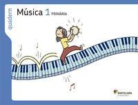 QUADERN MUSICA 1 PRIMARIA - 9788498076370