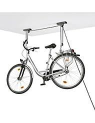 Support de plafond pour vélo telescopico avec corde de qualité que no se deshilacha et blocage antiretroceso pour suspendre et suspendre vélos MTB, electricas Cycles de plafond