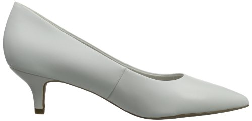 Tamaris, Escarpins femme Blanc (WHITE 100)